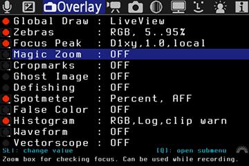 Overlay | Magic Lantern