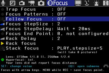 Focus | Magic Lantern